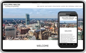 Philippa Walsh Psychotherapy - Counselling Website Design website design