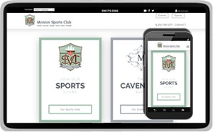 Monton Sports Club - Sports and Events Venue Website Design website design